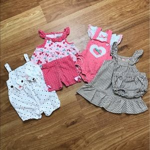 Baby Girl Clothes Four Outfits